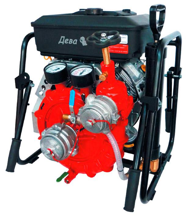 Пожарные мотопомпы МП: характеристики, назначение, типы