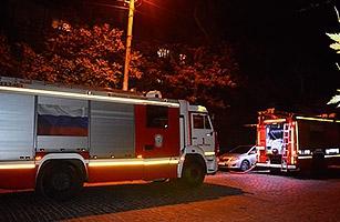 Cпасение людей в Севастополе